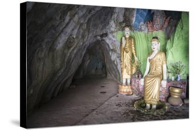 Cave Temple Near Mawlamyine, Mon State, Myanmar (Burma), Asia-Matthew Williams-Ellis-Stretched Canvas Print