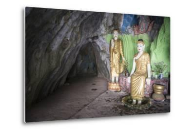 Cave Temple Near Mawlamyine, Mon State, Myanmar (Burma), Asia-Matthew Williams-Ellis-Metal Print