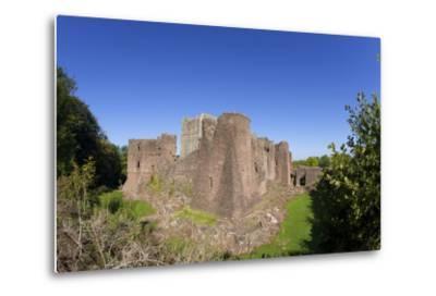Goodrich Castle, Forest of Dean, Herefordshire, England, United Kingdom, Europe-Peter Barritt-Metal Print