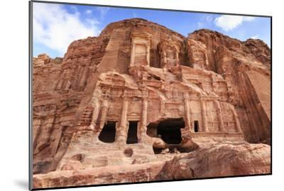 Corinthian Tomb, Royal Tombs, Petra, UNESCO World Heritage Site, Jordan, Middle East-Eleanor Scriven-Mounted Premium Photographic Print