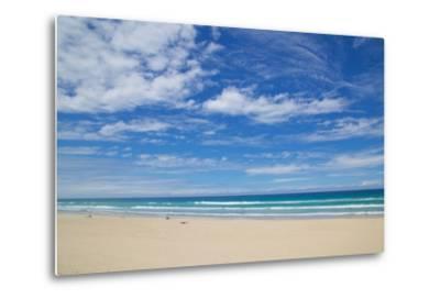 Surfers Paradise, Beach and Sky, Gold Coast, Queensland, Australia, Oceania-Frank Fell-Metal Print