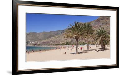 Playa De Las Teresitas Beach, San Andres, Tenerife, Canary Islands, Spain, Europe-Markus Lange-Framed Premium Photographic Print