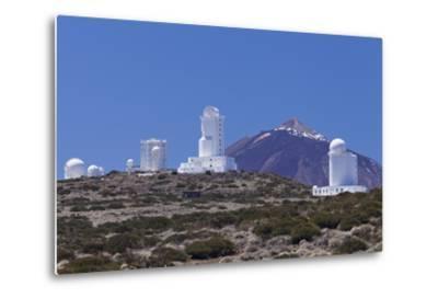 Observatory at Pico Del Teide, National Park Teide, Tenerife, Canary Islands, Spain-Markus Lange-Metal Print