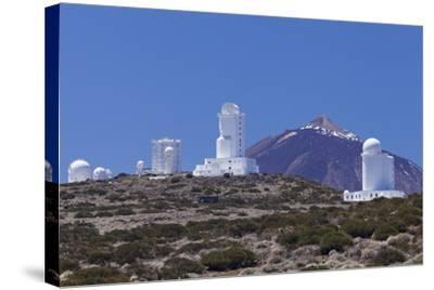 Observatory at Pico Del Teide, National Park Teide, Tenerife, Canary Islands, Spain-Markus Lange-Stretched Canvas Print