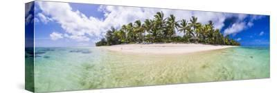 Beachfront at Royale Takitumu Luxury Villas, South Pacific Ocean-Matthew Williams-Ellis-Stretched Canvas Print