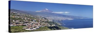 Orotava Valley to North Coast and Puerto De La Cruz and Pico Del Teide, Canary Islands, Spain-Markus Lange-Stretched Canvas Print
