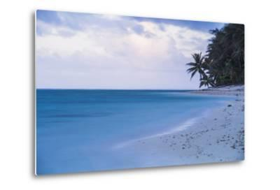 Tropical Beach, Rarotonga, Cook Islands, South Pacific, Pacific-Matthew Williams-Ellis-Metal Print