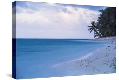 Tropical Beach, Rarotonga, Cook Islands, South Pacific, Pacific-Matthew Williams-Ellis-Stretched Canvas Print