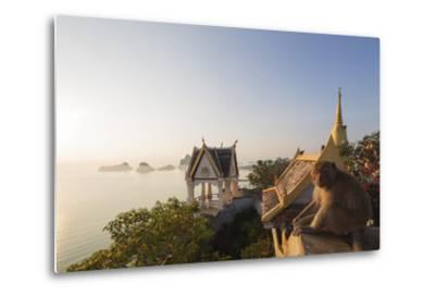 Wat Thammikaram Worawihan Temple, Khao Chong Krajok, Prachuap Kiri Khan, Thailand, Southeast Asia-Christian Kober-Metal Print