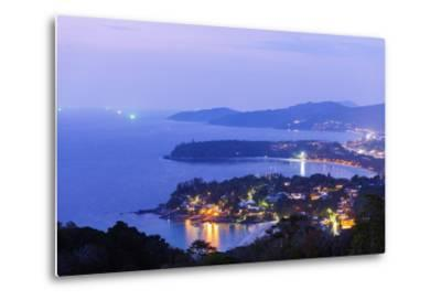South East Asia, Thailand, Phuket, Kata Beach View Point-Christian Kober-Metal Print