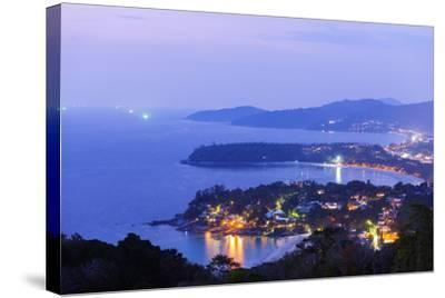 South East Asia, Thailand, Phuket, Kata Beach View Point-Christian Kober-Stretched Canvas Print