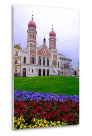 The Great Synagogue, Pilsen (Plzen), Western Bohemia, Czech Republic, Europe-Carlo Morucchio-Metal Print