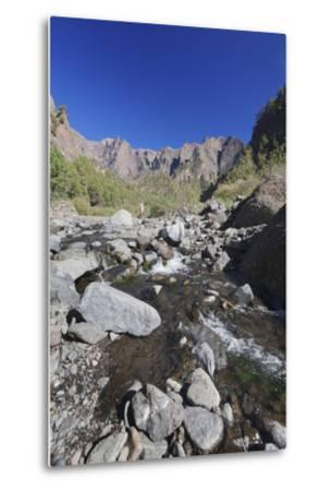 Rio Taburiente River, Parque Nacional De La Caldera De Taburiente, Canary Islands-Markus Lange-Metal Print