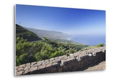 View from Mirador De La Tosca over the North Coast, Barlovento, Canary Islands-Markus Lange-Metal Print