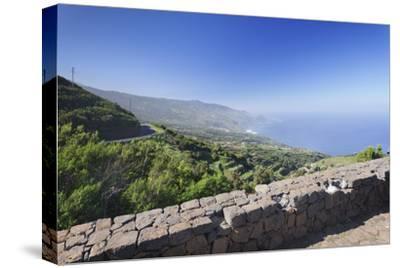 View from Mirador De La Tosca over the North Coast, Barlovento, Canary Islands-Markus Lange-Stretched Canvas Print