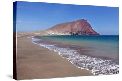 La Montana Roja Rock and Playa De La Tejita Beach, Spain-Markus Lange-Stretched Canvas Print
