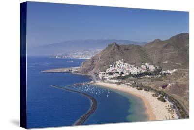 Playa De Las Teresitas Beach, Spain-Markus Lange-Stretched Canvas Print