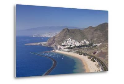 Playa De Las Teresitas Beach, Spain-Markus Lange-Metal Print