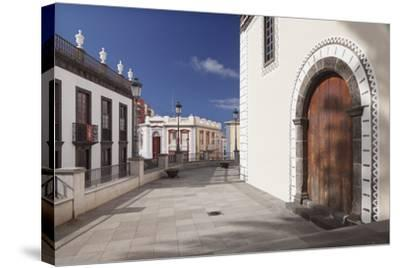 Iglesia De Bonanza Church, El Paso, La Palma, Canary Islands, Spain, Europe-Markus Lange-Stretched Canvas Print