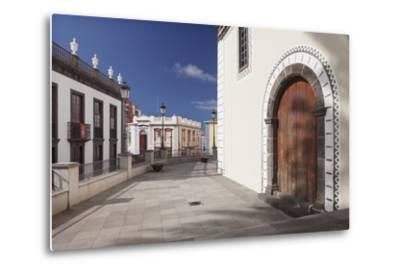 Iglesia De Bonanza Church, El Paso, La Palma, Canary Islands, Spain, Europe-Markus Lange-Metal Print