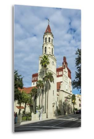 The Cathedral Basilica of St. Augustine, Florida-Michael Runkel-Metal Print