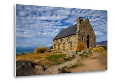 Church of the Good Shepherd, Lake Tekapo, South Island, New Zealand, Pacific-Suzan Moore-Metal Print