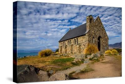 Church of the Good Shepherd, Lake Tekapo, South Island, New Zealand, Pacific-Suzan Moore-Stretched Canvas Print