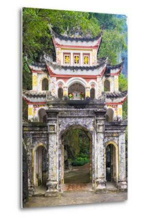 Gate of Bich Dong Pagoda, Hoa Lu District, Ninh Binh Province, Vietnam, Indochina, Southeast Asia-Jason Langley-Metal Print