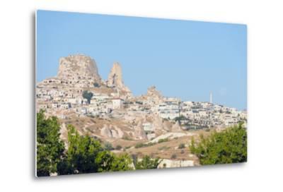 Rock-Cut Topography at Uchisar, Cappadocia, Anatolia, Turkey, Asia Minor-Christian Kober-Metal Print