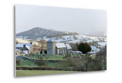 St. David's Church, Llanddewi'R Cwm, Powys, Wales, United Kingdom, Europe-Graham Lawrence-Metal Print