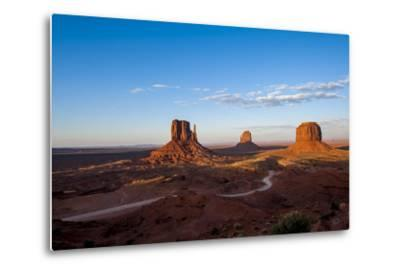Monument Valley Navajo Tribal Park, Monument Valley, Utah, United States of America, North America-Michael DeFreitas-Metal Print