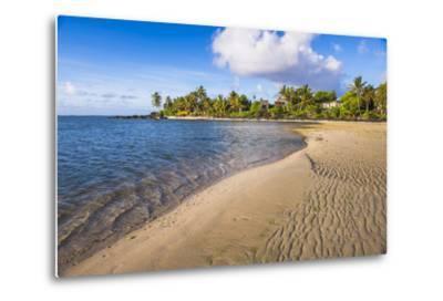 Muri Beach at Sunrise, Rarotonga, Cook Islands, South Pacific, Pacific-Matthew Williams-Ellis-Metal Print