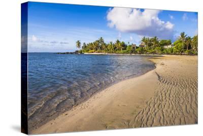 Muri Beach at Sunrise, Rarotonga, Cook Islands, South Pacific, Pacific-Matthew Williams-Ellis-Stretched Canvas Print