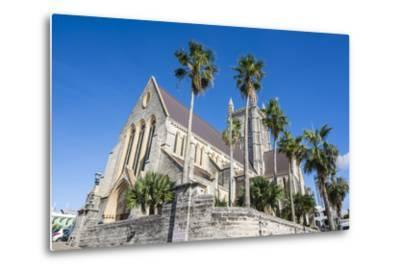 Bermuda Anglican Cathedral, Hamilton Capital Of, Bermuda, United Kingdom-Michael Runkel-Metal Print