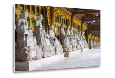 Arhat Statues at Bai Dinh Temple (Chua Bai Dinh), Gia Vien District, Ninh Binh Province, Vietnam-Jason Langley-Metal Print