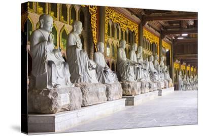 Arhat Statues at Bai Dinh Temple (Chua Bai Dinh), Gia Vien District, Ninh Binh Province, Vietnam-Jason Langley-Stretched Canvas Print