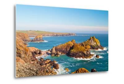 Kynance Cove, Lizard, Cornwall, England, United Kingdom, Europe-Kav Dadfar-Metal Print