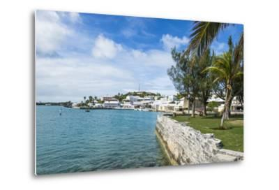 The Harbour of the UNESCO World Heritage Site, the Historic Town of St George, Bermuda-Michael Runkel-Metal Print