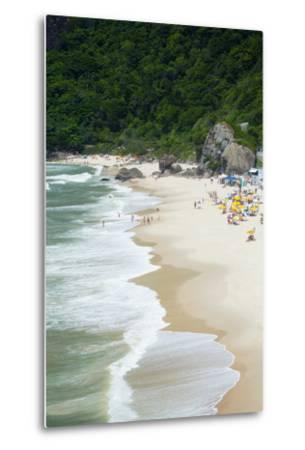 Prainha Beach Near the Olympic Site in Barra Da Tijuca (Recreio Dos Bandeirantes), Brazil-Alex Robinson-Metal Print