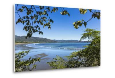 View from Tambor across Ballena Bay Towards Pochote on Southern Tip of Nicoya Peninsula, Costa Rica-Rob Francis-Metal Print