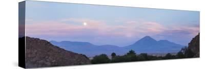 Sunset at Licancabur Volcano, Stratovolcanos in the Atacama Desert-Matthew Williams-Ellis-Stretched Canvas Print