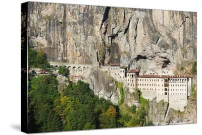 Sumela Monastery, Anatolia-Christian Kober-Stretched Canvas Print