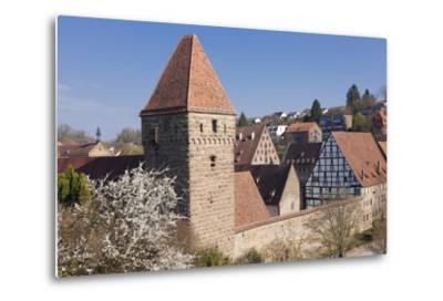 Haspelturm (Hexenturm) Tower, Kloster Maulbronn Abbey, Black Forest, Baden-Wurttemberg, Germany-Markus Lange-Metal Print