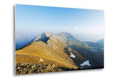 Macun Lakes, Swiss National Park, Engadine, Graubunden, Switzerland, Europe-Christian Kober-Metal Print