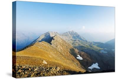 Macun Lakes, Swiss National Park, Engadine, Graubunden, Switzerland, Europe-Christian Kober-Stretched Canvas Print