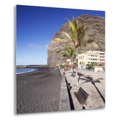 Beach of Puerto De Tazacorte, La Palma, Canary Islands, Spain, Europe-Markus Lange-Metal Print