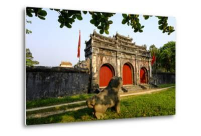 Tomb of the Emperor Minh Mang of Nguyen Dynasty, Sung an Palace, Group of Hue Monuments-Nathalie Cuvelier-Metal Print