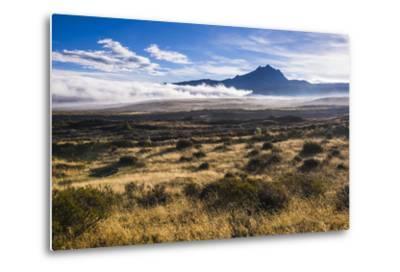 Sincholagua Volcano at Sunrise, Cotopaxi Province, Ecuador, South America-Matthew Williams-Ellis-Metal Print