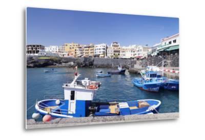 Fishing Boats at the Port, Los Abrigos, Tenerife, Canary Islands, Spain, Atlantic, Europe-Markus Lange-Metal Print