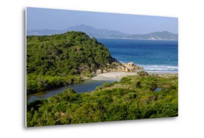 Vinh Hy Bay, Nui Cha National Park, Ninh Thuan Province, Vietnam, Indochina, Southeast Asia, Asia-Nathalie Cuvelier-Metal Print